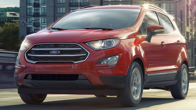 2018 Ford Ecosport Ford Ecosport In Brookfield Wi Soerens Ford