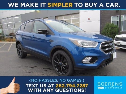 2017 Ford Escape Titanium 4wd In Brookfield Wi Milwaukee Ford